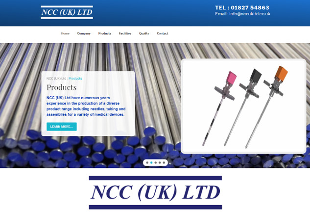 Established in 1988 as a sales office for N.C.C Japan, N.C.C (UK) Ltd has developed it's own business model in order to offer a wide and more complete product and service range. In 1992 as company continued to develop both medical and veterinary products supplied on an O.E.M. basis, we decided to establish our own U.K. based manufacturing facility. In 2001 following continued growth we relocated to a larger premises, our present site, which provided us with increased scope for growth.
